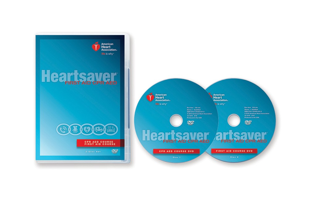 heart saver first aid cpr aed dvd emergicare rh emergicare biz CPR Steps Printable american heart association healthcare provider cpr manual